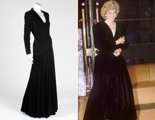 Iconic Princess Diana Dresses To Be Auctioned