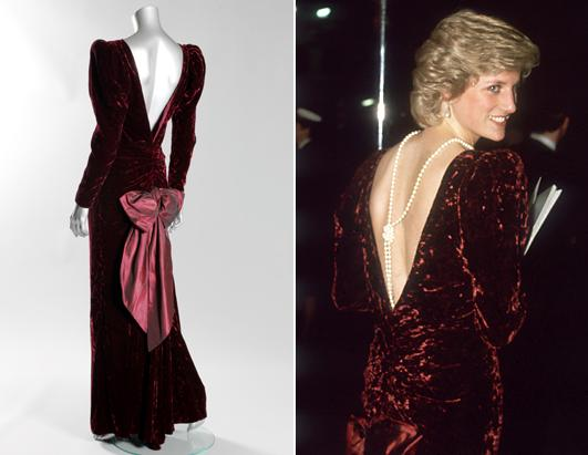 Iconic Princess Diana Dresses To Be Auctioned Picture