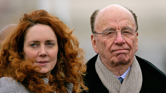 PHOTO: Rupert Murdoch and Rebekah Brooks