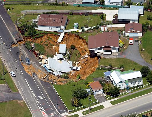Incredible Sinkholes Around The World