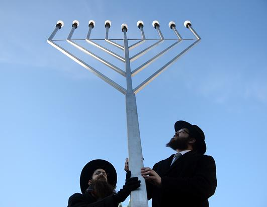 People Around the World Celebrate Hanukkah
