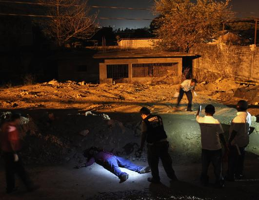 Ongoing drug violence in Mexico