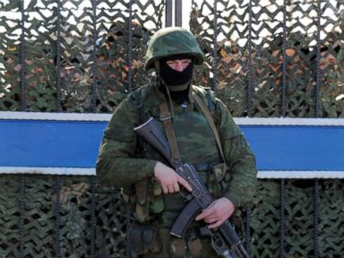 Photos: Showdown Looms as Masked Russian Troops Occupy Crimea
