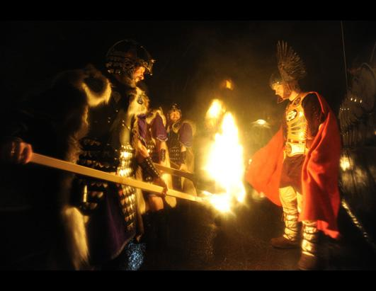 Up Helly Aa Fire Festival Celebrates the Vikings