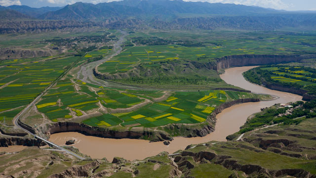 PHOTO: The Yellow River origin which flows through Tibet.