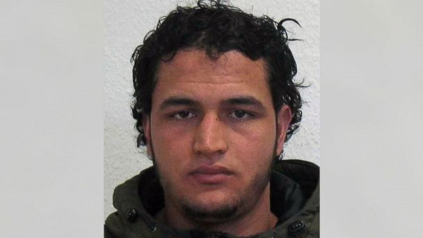 PHOTO: German officials have said that Anis Amri, 24, of Tunisia, is wanted in connection with the attack on a Christmas market in Berlin, Germany, on Dec. 19, 2016.