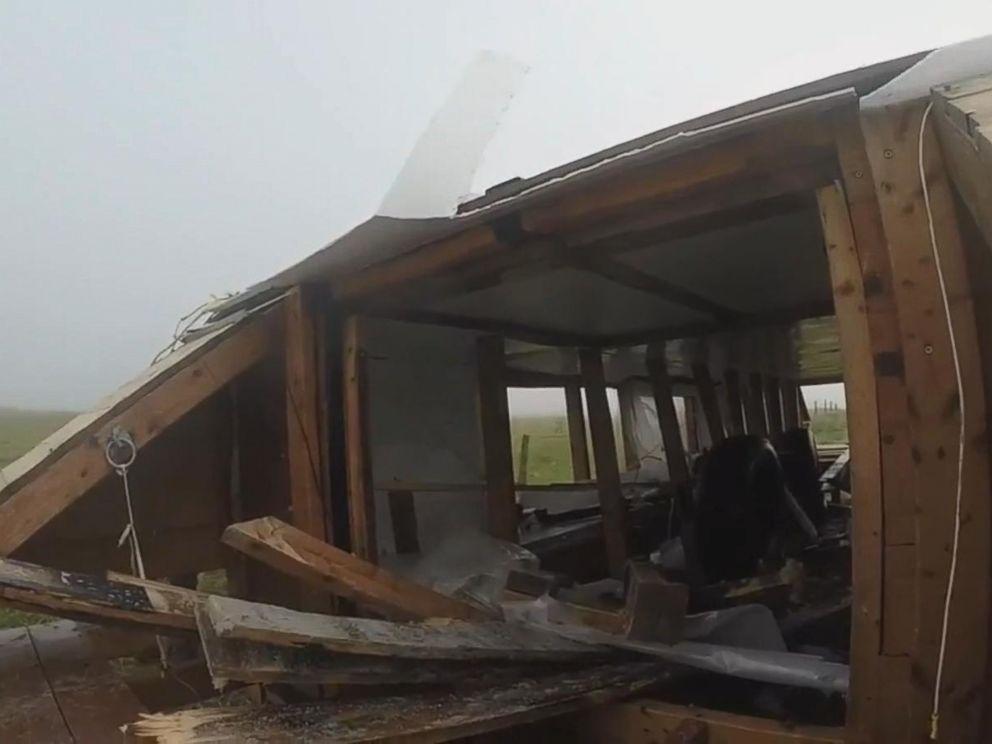 Empty Houseboat Washed Ashore on Irish Coast Likely