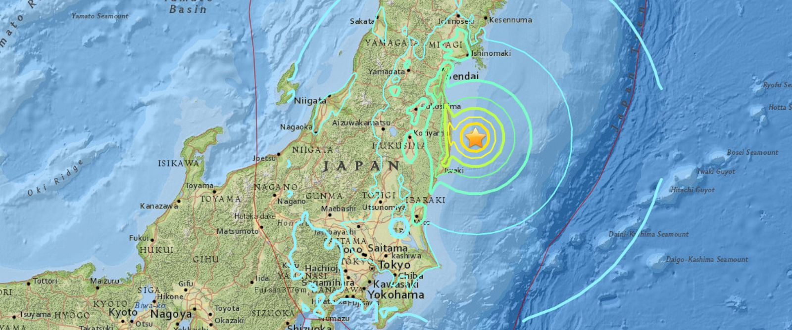 Image result for japan earthquake