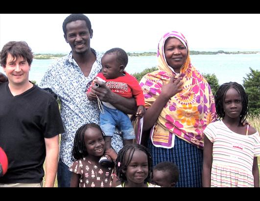 Darfur Refugee Family Gets U.S. Home