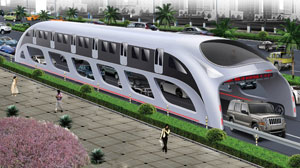 China Aims to Revolutionize Mass Transportation
