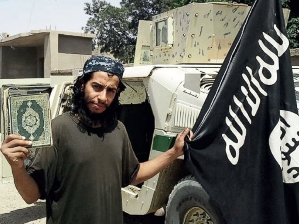 PHOTO: Using an alias, a man identified as Abdelhamid Abaaoud was interviewed for an ISIS magazine in February.