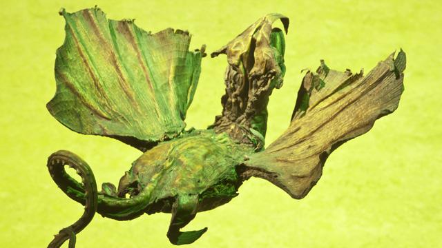 PHOTO:fake dragon skull