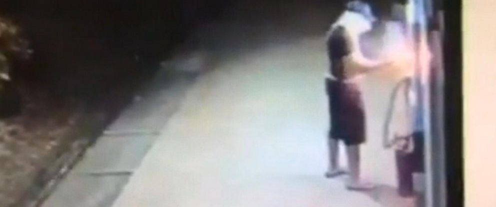 PHOTO: Police in the Northern Territory of Australia have released video of a man knocked off of his feet when an explosion went off at an ATM in the town of Winnellie in the early morning of Dec. 30, 2014.