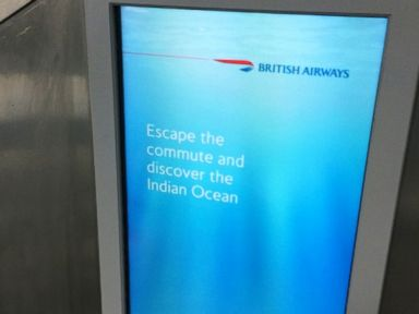 Oops! British Airways Runs 'Escape to Indian Ocean' Ad