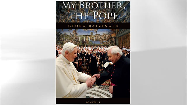 PHOTO: Book cover for ?My Brother, The Pope,? the memoirs of Monsignor Georg Ratzinger.