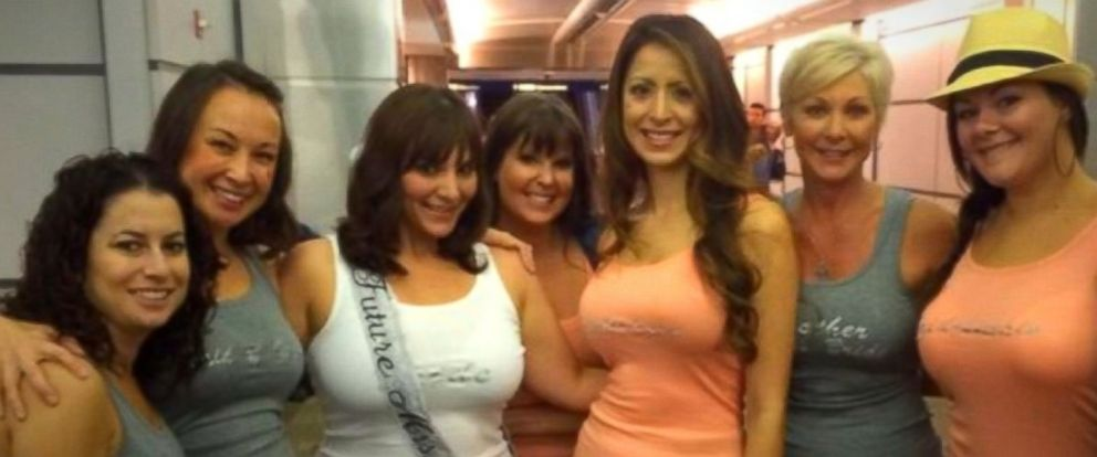 PHOTO: Morgan Essenheimer and her bachelorette party were among 30,000 tourists believed to have been stranded by Hurricane Odile.