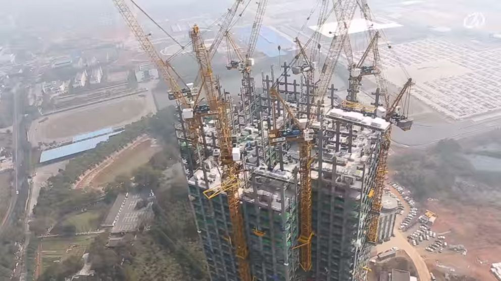 J57 China 57 Floors Built In 19 Days In Changsha China