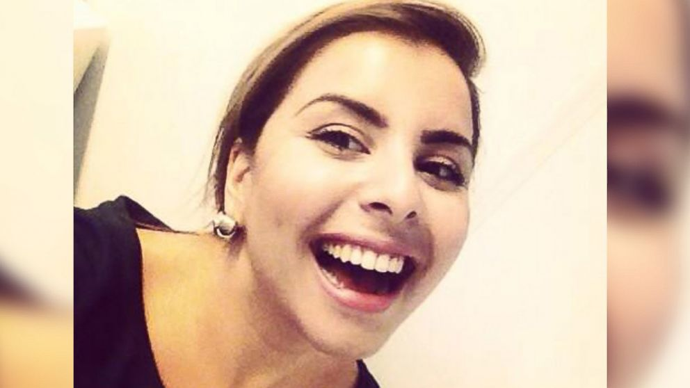"PHOTO: Esra Kansu posted this image to her Twitter account on July 30, 2014 with the text, ""Im a Turkish girl, 26 years old, and I cant do anything but Smile!!"""