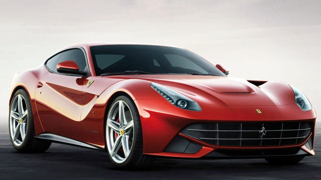 PHOTO: The Ferrari F12 Berlinetta is seen in this undated file photo.