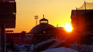 PHOTO: The sun rose in Inuvik, Canada at 2:30 a.m. on May 24, 2015 and will not set until July 20, 2015.