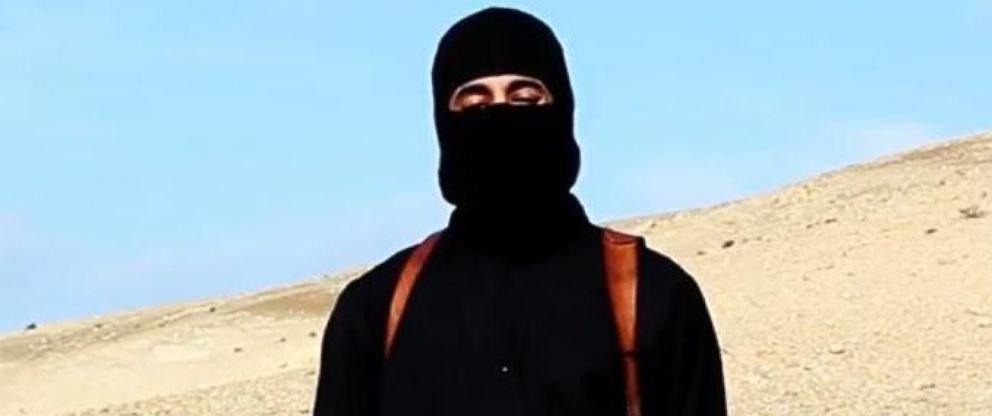 "PHOTO: The man dubbed ""Jihadi John"" appears in a video released by ISIS on Jan. 19, 2015."