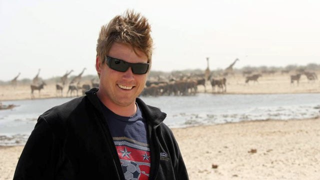 "PHOTO: Jeff Rice, producer of the television show ""The Amazing Race"" is seen in this undated file photo taken in Namibia."