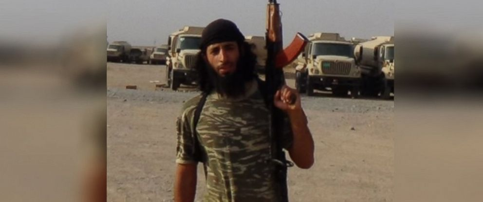 """PHOTO: Mohammed Emwazi, also known as """"Jihadi John"""", appears unmasked in ISIS photos."""