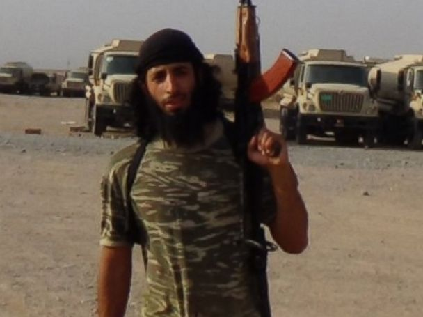 PHOTO: Mohammed Emwazi, also known as Jihadi John, appears unmasked in ISIS photos.