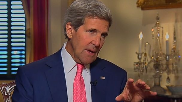 ht john kerry katy couric 2 jc 140616 16x9 608 US Open To Cooperating With Iran on Iraq, Kerry Says