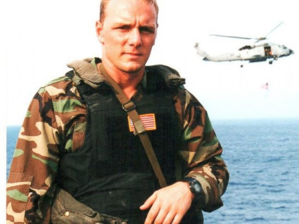PHOTO: Brett Jones was a Navy SEAL before leaving the Navy in 2003.