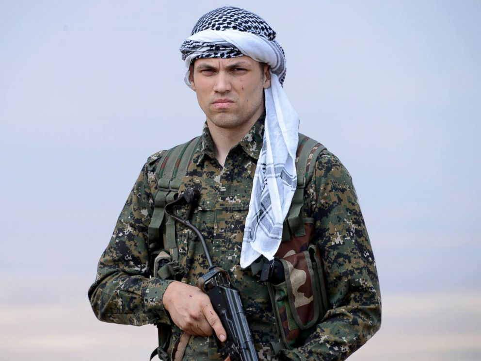 PHOTO: American Jordan Matson, seen here in his Facebook profile picture, says hes fighting with Kurdish forces against ISIS.