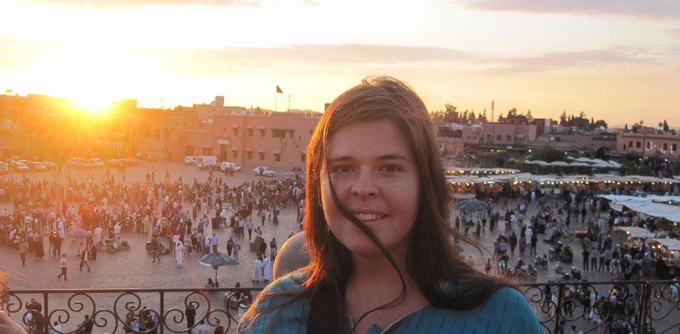 PHOTO: Kayla Mueller seen on her travels in this undated photo.