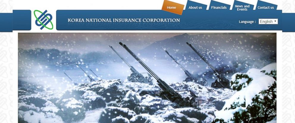 PHOTO: This site for the Korea International Insurance Corporation is one of the few sites approved by the North Korean government.