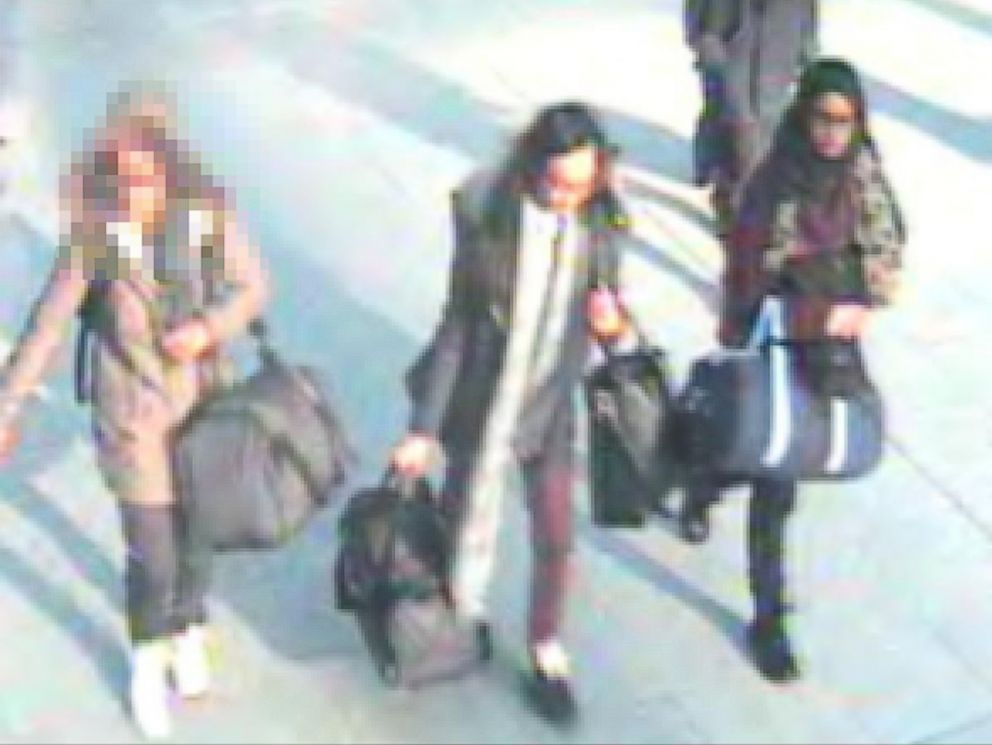 PHOTO: Scotland Yard issued an appeal for information on three schoolgirls who have been reported missing, may be heading to Syria. Feb. 20, 2015.