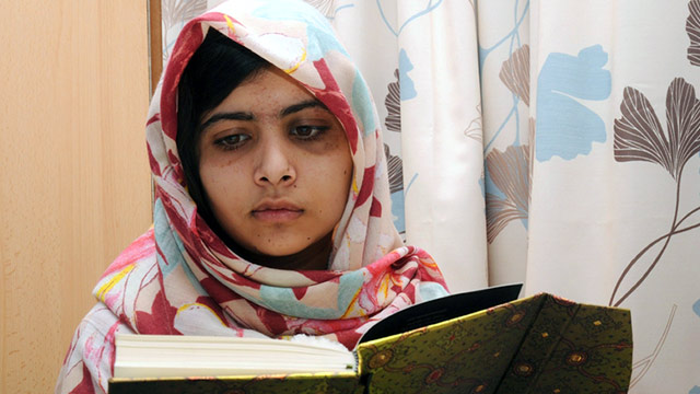 PHOTO: Malala Yousufzai