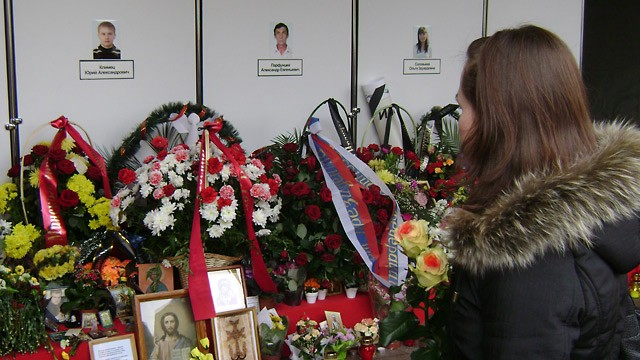 PHOTO: Belarus Struggles to Make Sense of April Terror Attack and Country's Future