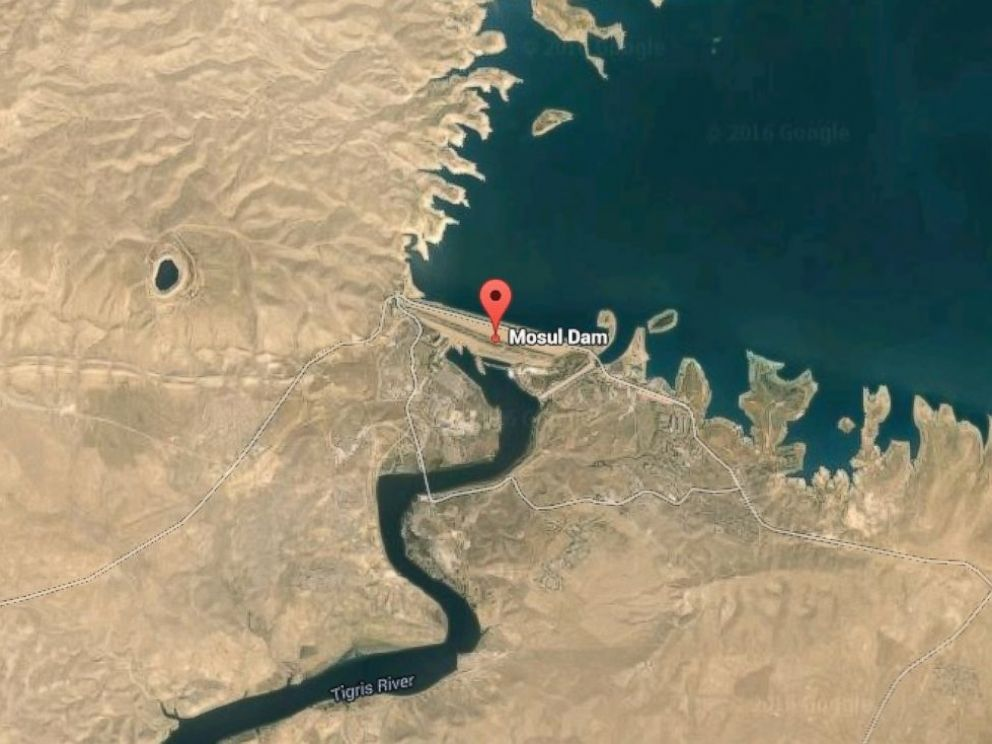 Image result for Mosul Dam
