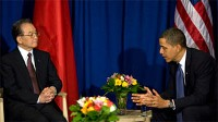 Obama sits down with Chinese Premier