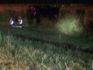 PHOTO: More than 30 people were injured after a Greyhound bus overturned on an Ohio interstate on Sept. 14, 2013 authorities said. The bus was heading northbound on I-75 in Butler County, Ohio when overturned.