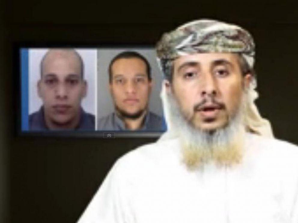 PHOTO: A high-profile al Qaeda in the Arabian Peninsula (AQAP) member claimed in a video that his group directed and financed the Jan. 7, 2015 terrorist attack in Paris.