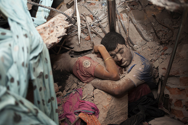 Pictures Of A the rubble of a garment