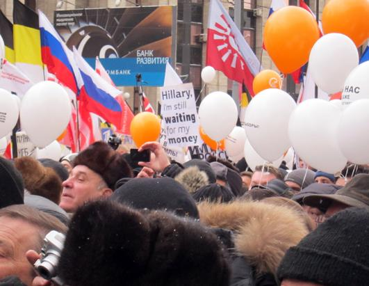 Thousands Rally in Moscow Against Putin
