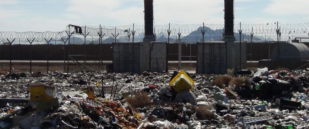 PHOTO: An unused waste incinerator in Shindand in Herat, Afghanistan.