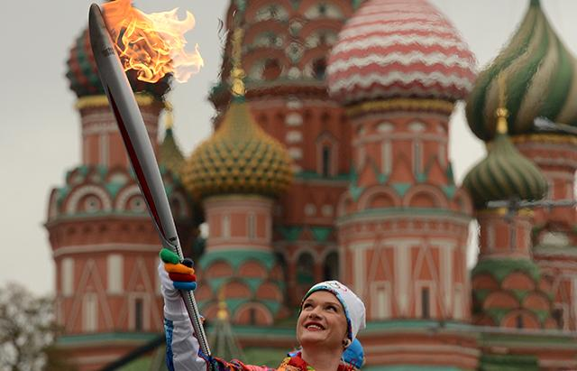Photos: The 2014 Olympic Torch Relay