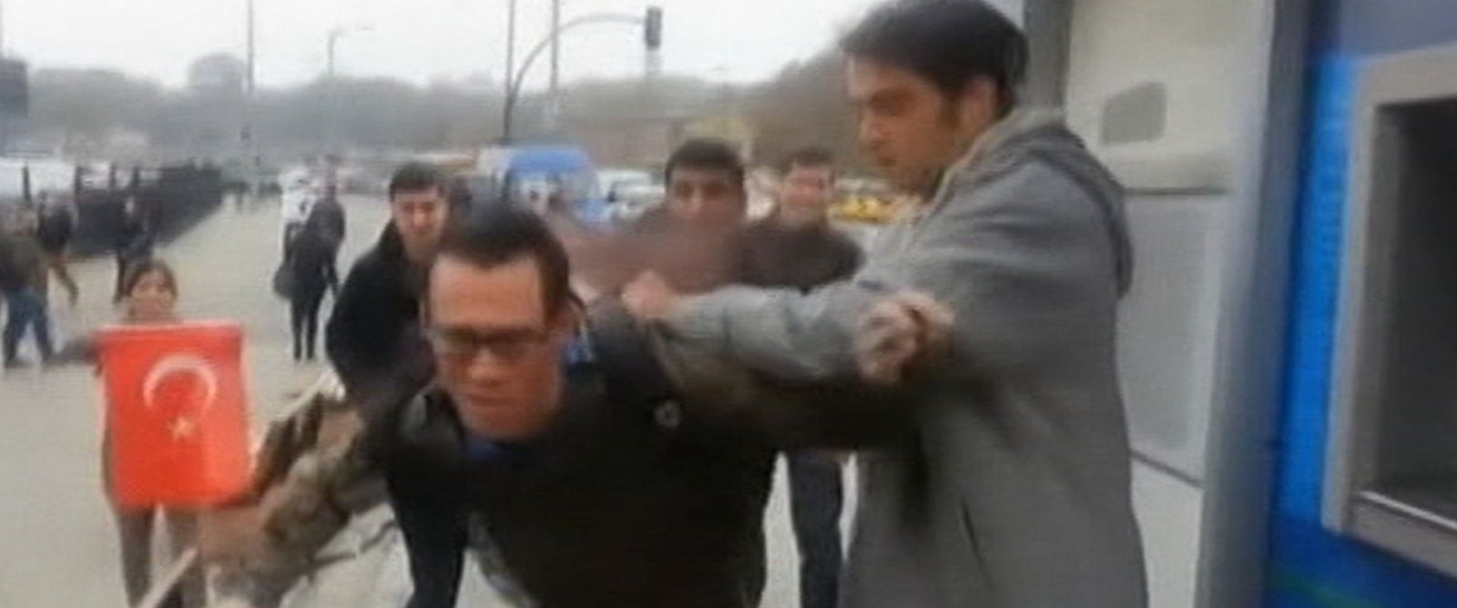 PHOTO: Three U.S. sailors were assaulted by about 20 people on the streets of Istanbul, Turkey.