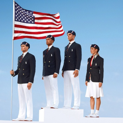 Fashionable Olympic Team Uniforms