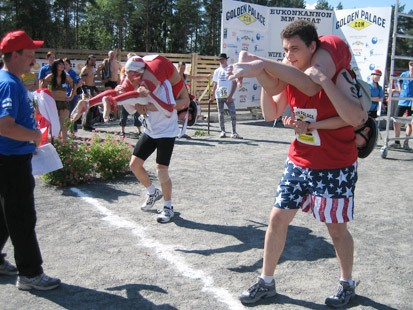 Wife carrying, anyone?