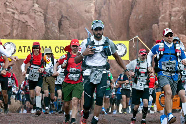 ht zandy ultra marathon atcama desert 2011 runner start thg 130318 wblog Racing the Planet with Zandy Mangold