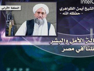 Al Qaeda?s Ayman al-Zawahiri released an audiotape response to events in Egypt on Feb. 18, 2011, accompanied by this still picture.