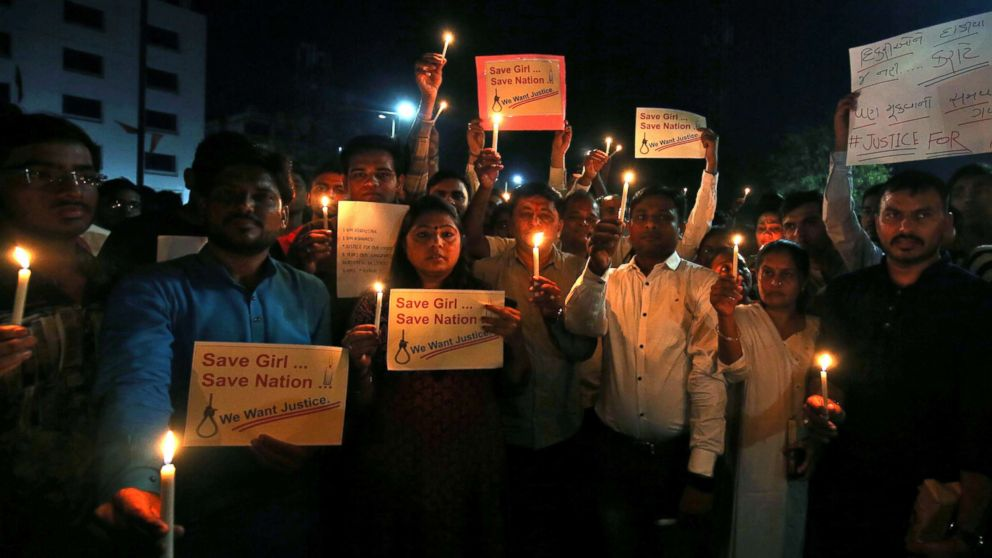 8-year-old girl's brutal rape and murder sparks protests along religious lines in India